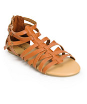 Antic Tan Gladiator Sandals