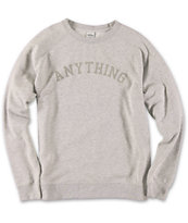 Anything Princeton Crew Neck Sweatshirt