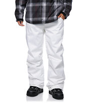 Aperture 5 Pocket White Denim 2014 Snowboard Pants