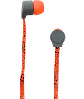 Aperture Bawse Speckle Red & Grey Earbuds