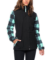 Aperture Cannon Plaid 10K Snowboard Jacket