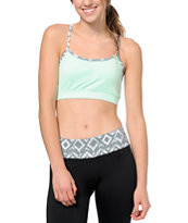 Aperture Cher Mint Y-Back Sports Bra