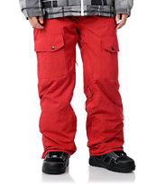Aperture Drake Red Guys Snowboard Pants