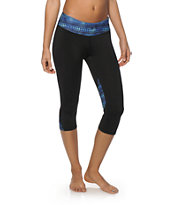 Aperture Elton Galaxy Tribal Capri Pants