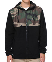 Aperture Explorer Camo Ripstop Black Polar Tech Fleece Jacket