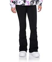 Aperture Girl Blue Bird Black 10K Softshell Snowboard Pants