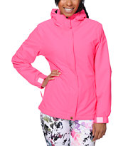 Aperture Girl Chassis Pink 10K Snowboard Jacket