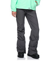 Aperture Girl Kaleidoscope Charcoal 10K Stretch Snowboard Pants