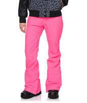 Aperture Girl Kaleidoscope Pink 10K Snowboard Pants