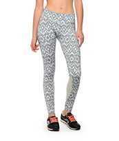 Aperture Murray Grey Tribal Workout Pants
