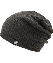 Aperture Pedro Heather Charcoal Slouch Beanie