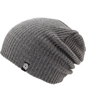 Aperture Pedro Heather Grey Slouch Beanie
