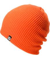 Aperture Pedro Orange Slouch Beanie