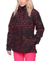 Aperture Pow Pow Geo Scratch 10K Snowboard Jacket