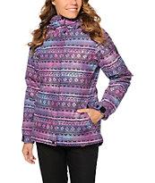 Aperture Pow Pow Tie Dye Tribal 10K Snowboard Jacket