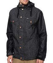 Aperture Reaper 10K Denim Varsity Snowboard Jacket