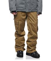 Aperture Sentry Cargo Dark Khaki 10k Snowboard Pants
