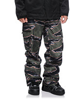 Aperture Sentry Tiger Camo Cargo 10K Snowboard Pants