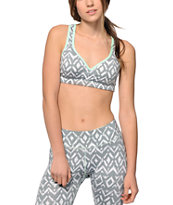 Aperture Stoegar Tribal & Mint Molded Sports Bra