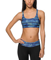 Aperture Tai Galaxy Tribal X-Back Sports Bra
