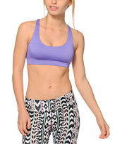 Aperture Tai Purple & Tribal X Back Sports Bra