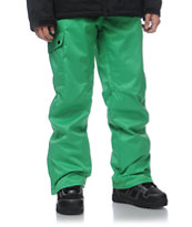 Aperture Union Kelly Green 10K 2013 Guys Snowboard Pants