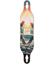 Arbor Axis 40 Drop Through Longboard Deck