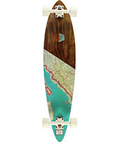 "Arbor Fish 39"" Pintail Longboard Complete"
