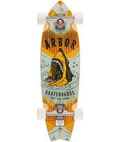 Arbor GB Sizzler Sharks 31.75 Cruiser Complete Skateboard