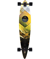 "Arbor Timeless Walnut 46"" Pintail Longboard Complete"