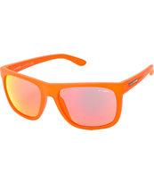 Arnette Fire Drill Transparent Orange & Mirror Red Sunglasses