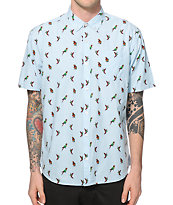 Artistry In Motion Parrots Button Up Shirt
