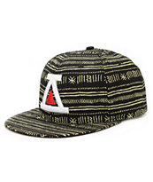 Asphalt Yacht Club AYC Black & Tan Strapback Hat