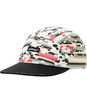 Asphalt Yacht Club Camo Pattern 5 Panel Hat