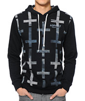 Asphalt Yacht Club Crosses Black Pullover Hoodie
