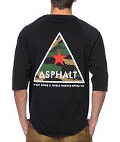 Asphalt Yacht Club Delta Force Baseball T-Shirt