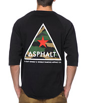 Asphalt Yacht Club Delta Force Baseball Tee Shirt