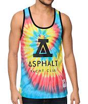 Asphalt Yacht Club Dip N Flip Tie Dye Tank Top