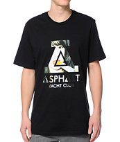 Asphalt Yacht Club Elle Pop Knockout Black Tee Shirt