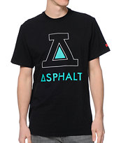 Asphalt Yacht Club Icon Black Tee Shirt