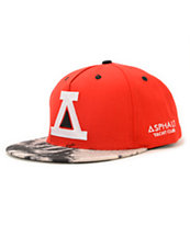 Asphalt Yacht Club Kaleidoscope Red Snapback Hat