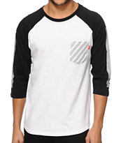 Asphalt Yacht Club Reflex Baseball Pocket T-Shirt