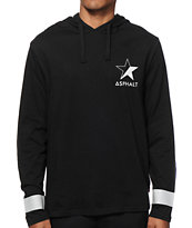 Asphalt Yacht Club Reflex Long Sleeve Hooded Shirt