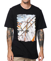 Asphalt Yacht Club Sails Black Tee Shirt