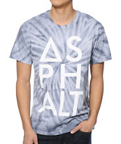 Asphalt Yacht Club Spider Knockout Tie Dye Tee Shirt