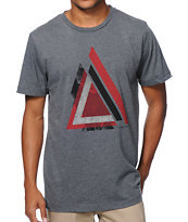 Asphalt Yacht Club Triangle Grey Tee Shirt