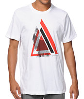 Asphalt Yacht Club Triangle White Tee Shirt