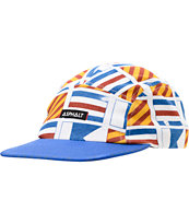 Asphalt Yacht Club Yacht Flag 5 Panel Hat