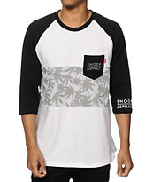 Asphalt Yacht Club x Snoop Dogg Kush Baseball Pocket T-Shirt