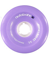 Autobahn Banshee 70mm 85a Purple Longboard Wheels